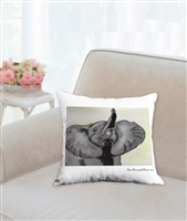 """Eloise Trumpets"" Throw Pillow"