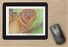 """Golden Lion Tamarin"" Mouse Pad"