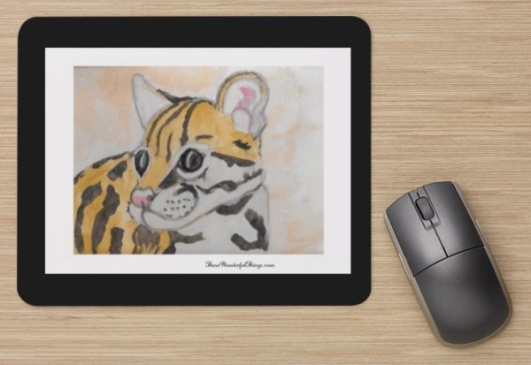"""Tiger Cub"" Mouse Pad"