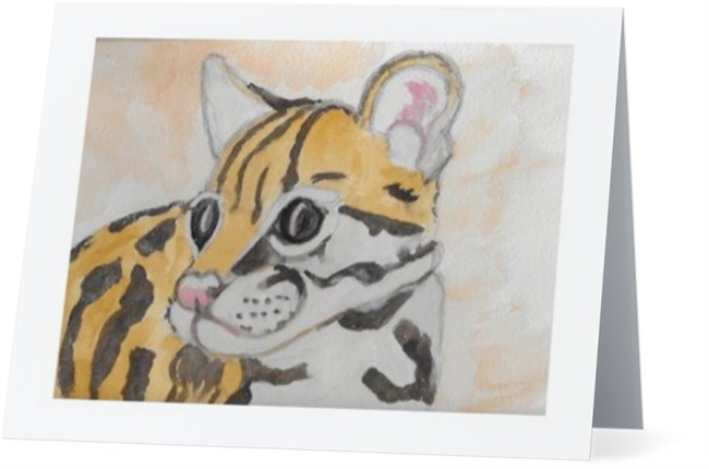 """Tiger Cub"" Note Cards"