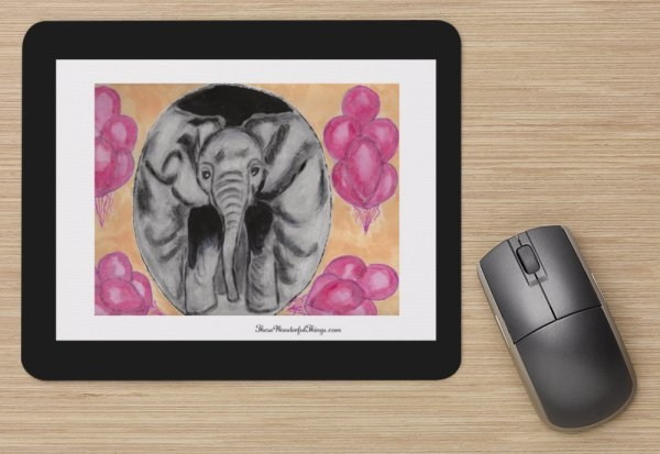 """Balloons"" Mouse Pad"