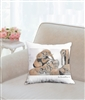 """Mud Bath"" Throw Pillow"