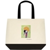 """Gray Crowned Crane"" Tote Bag"