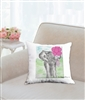 """Be My Friend"" Throw Pillow"