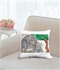 """Kangaroos"" Throw Pillow"