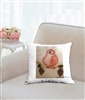 """Baby Bird"" Throw Pillow"