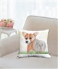 """Corgi"" Throw Pillow"