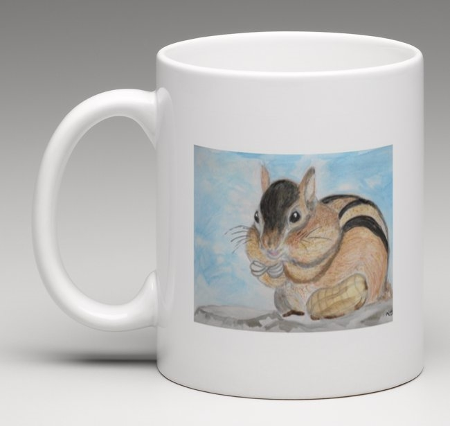 """Chipmunk"" Coffee Cup"