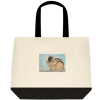 """Chipmunk"" Tote Bag"