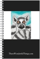 Ring Tail Lemur #2 Journal