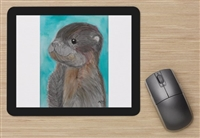"""Baby Otter"" Mouse Pad"