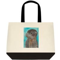 """Baby Otter"" Tote Bag"