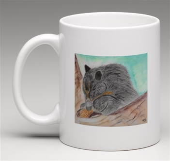 """Andean Bear"" Coffee Cup"