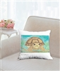 """African Spurred Tortoise"" Throw Pillow"
