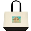 """African Spurred Tortoise"" Tote Bag"