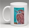 """Racket-tailed Roller"" Coffee Cup"