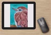 """Racket-tailed Roller"" Mouse Pad"