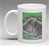 """Hippo #2"" Coffee Cup"