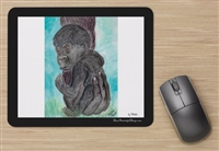 """Baby Gorilla"" Mouse Pad"