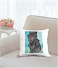 """Baby Gorilla"" Throw Pillow"