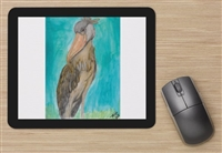 """Shoebill Stork"" Mouse Pad"