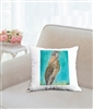 """Shoebill Stork"" Throw Pillow"