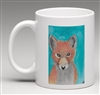 """Red Fox"" Coffee Cup"