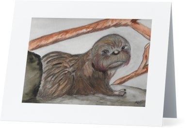 """Otter"" Note Cards"