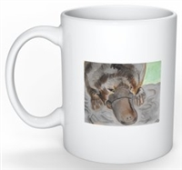 """Platypus #2"" Coffee Cup"