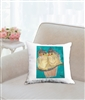 """Birds"" Throw Pillow"