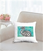 """Emu #1"" Throw Pillow"