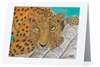 """Amur Leopard"" Note Cards"