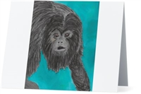 """Black Howler Monkey"" Note Cards"