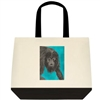 """Black Howler Monkey"" Tote Bag"