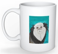 """Geoffroy's Marmoset"" Coffee Cup"