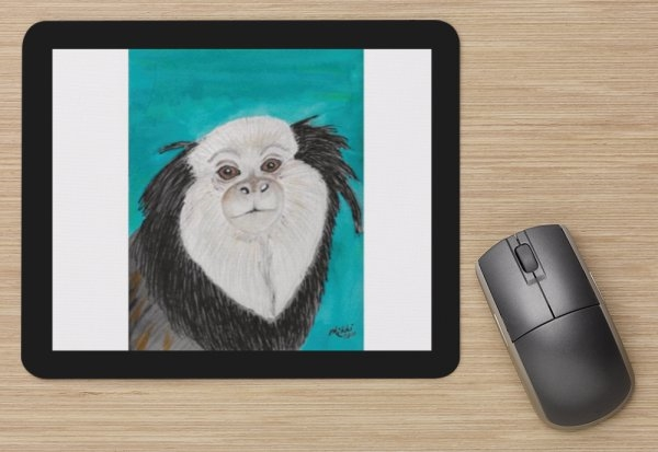 """Geoffroy's Marmoset"" Mouse Pad"