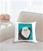 """Geoffroy's Marmoset"" Throw Pillow"