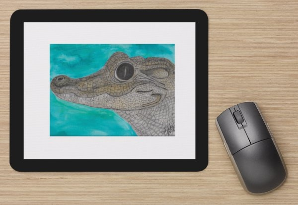 """Alligator"" Mouse Pad"