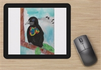 """Bird of Paradise"" Mouse Pad"