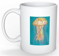 """Jellyfish"" Coffee Cup"