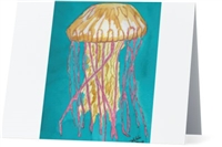 """Jellyfish"" Note Cards"