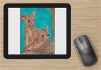 """Fossa Pups"" Mouse Pad"