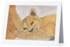 """Lion #2"" Note Cards"
