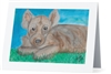 "Hyena Pup"" Note Cards"