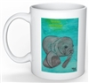 """Manatee"" Coffee Cup"