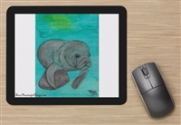 """Manatee"" Mouse Pad"