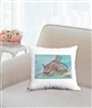 """Sea Slug"" Throw Pillow"