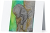 """Elephant #5"" Note Cards"