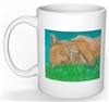 """Lion Sleep"" Coffee Cup"