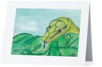 """Snake #2"" Note Cards"